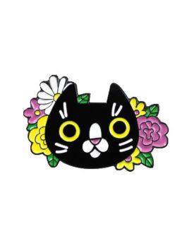 Pin Black Cat