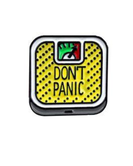 Pin Panic gelb