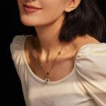 EVIL EYE Halskette mit Schmuckkristallen