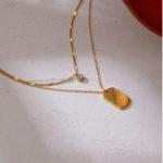 Zweireihige Halskette TAG